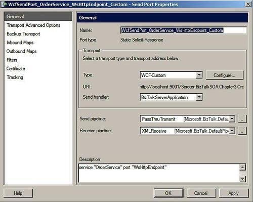 BizTalk Server 2009 : Consuming WCF services without orchestration