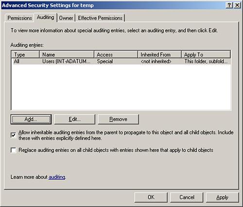 Windows Server 2003 Security Configuration Part 1