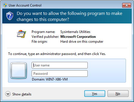 administrator rights windows 7