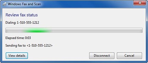 Windows 7 : Sending Faxes from Windows Fax and Scan - Microsoft