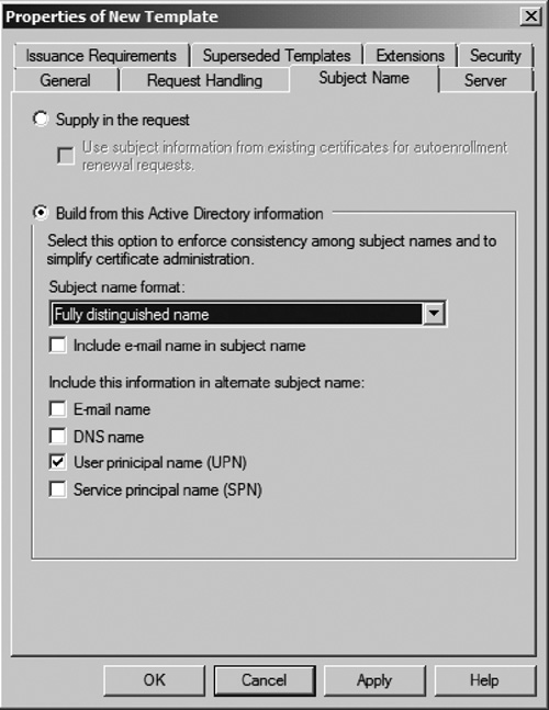 Windows server 2008 r2 and windows 7 deploying branchcache part 2 select subject name options yadclub Choice Image