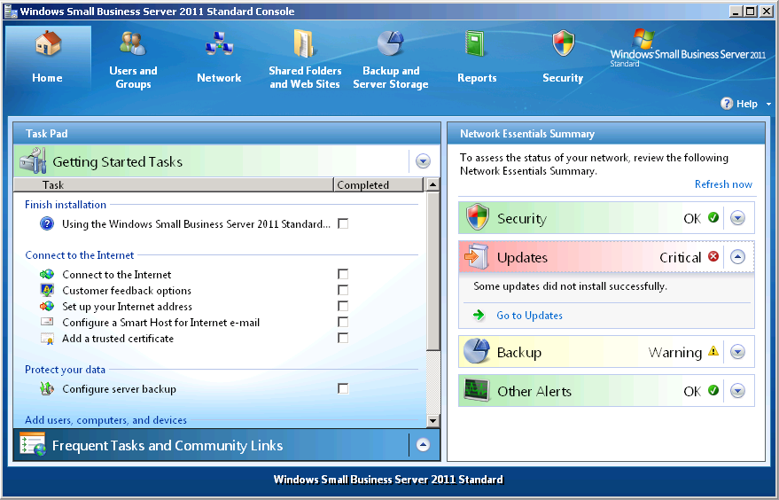 Windows Small Business Server 2011 : Understanding the